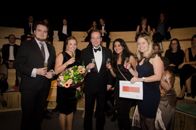 uitreiking Younglink Award